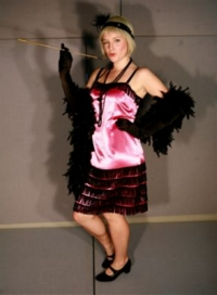 Flapper Pink Costume