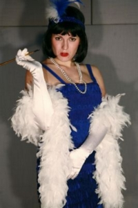 Flapper Blue Costume