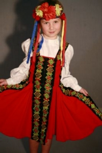 Austrian child/Heidi/Gretel Costume