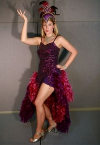 Showgirl Purple Costume