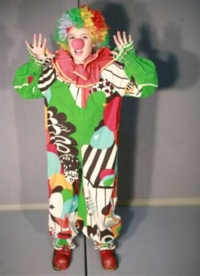 Clown child 1 Costume
