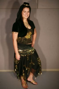 Arabian Black Costume