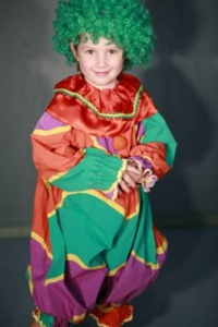 Clown child 3 Costume