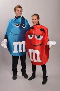 M&M's pair Costumes
