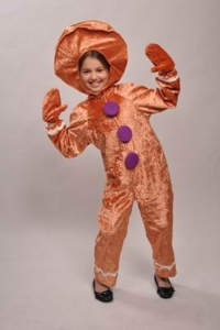 Gingerbread Man Child Costume