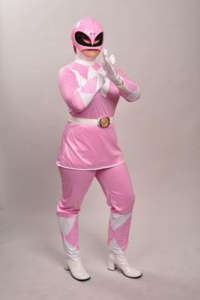 Power Ranger Pink Costume
