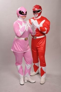 Power Ranger Pair Costumes