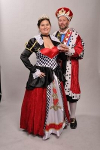 Queen and King of Hearts Costumes