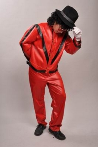 Michael Jackson Red Costume