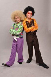 70s Child couple Costumes  sc 1 st  Amazing Transformations : 70s couples costumes  - Germanpascual.Com
