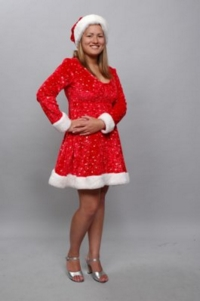 Mary Christmas Costume - Short Dress
