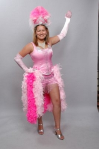Showgirl Pink Costume
