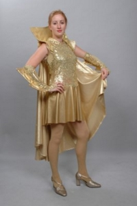 Space Gold 1 Costume