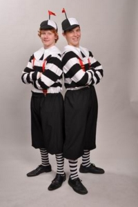 Tweedle Dum & Tweedle Dee Costumes