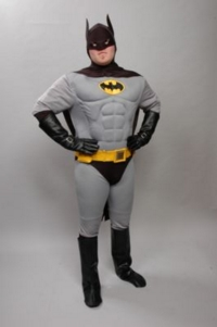 batman grey Costume