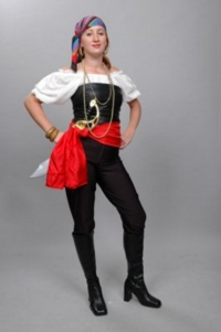Pirate Girl 3 Costume