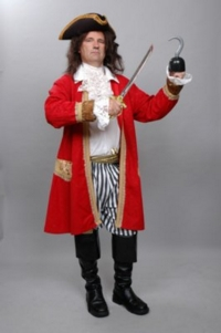Pirate Capt Hook Costume