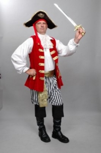 Pirate Cpt Feathersword Costume