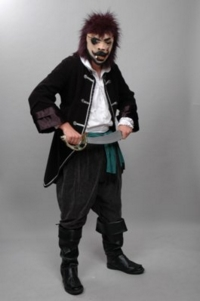 Pirate Mask Costume