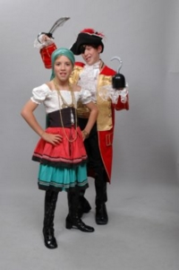 Pirate Child Couple Costumes