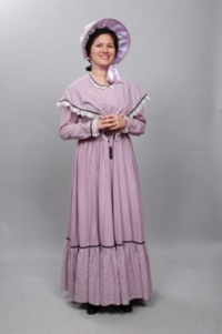 Colonial purple Costume
