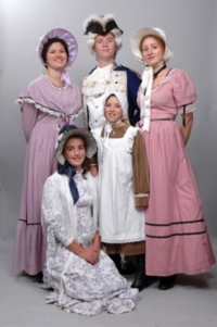 Colonial Group Costumes
