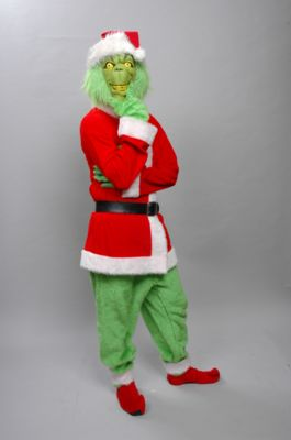 Grinch Costume , Amazing Transformations