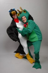 Penguin and frog Costumes