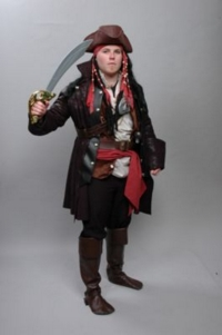 Jack Sparrow Pirates of the Caribbean Costume