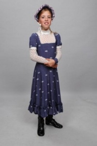 Colonial Child blue Costume