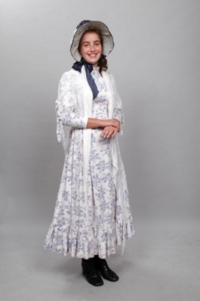 Colonial Child white Costume