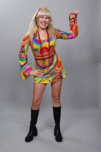1960s Psychedelic hippi Costume