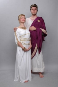 Roman Couple Costumes