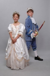 Cinderella and Prince Child Costumes