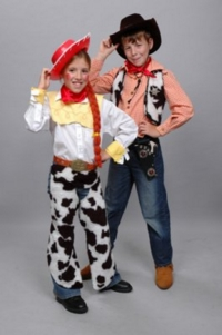 Woody and Jesse Toy Story Child Costumes