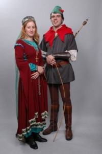 Robin Hood and Maid Marion Costumes